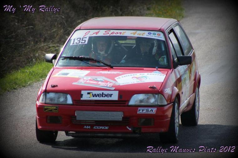 Rallye Des Mauves-Plats 2012