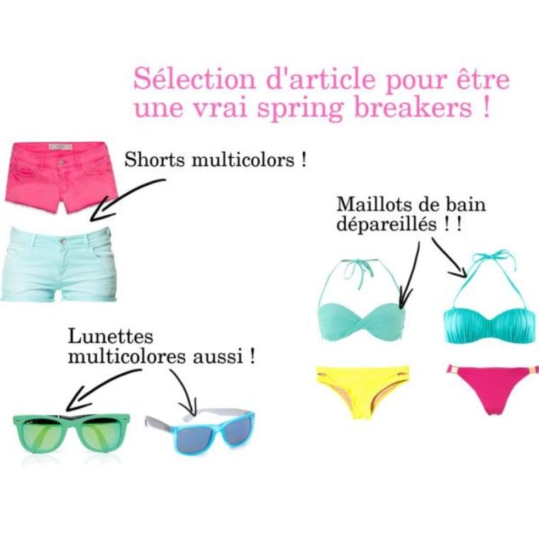 En mode spring break !