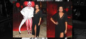 """. 27/10/17 - Comme beaucoup de stars, Bethétait à la soirée d'halloween de JustJared- in Beverly Hills. (+)Côté Look:. La youtubeuse était déguisé en """"maleficient"""" mais à sa manière. J'aime beaucoup, mais assez simple. C'est tout de même un top. ."""