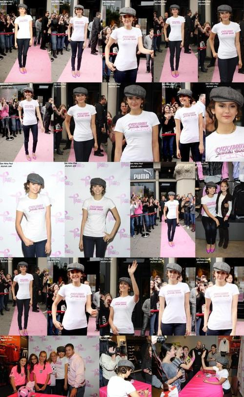 Nina au Pink Project