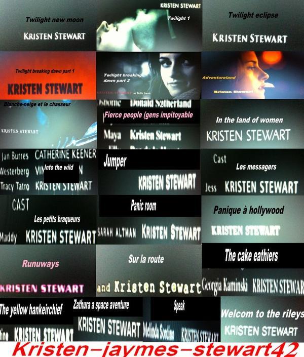 Objectif vacances , regarder tout les films de Kristen Stewart !!
