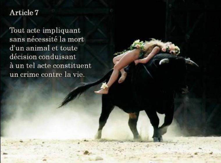 allé  du  cran !!! partagez moi ca  si vous êtes vraiment anti corrida  prouvez le moi  !!!!!!!!!!!!!!!!!!