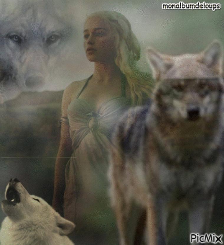 Les loups ne se mangent point entre eux. Les mauvaises gens se protègent entre eux. Si seulement les bonnes gens pouvaient en faire autant ! Mais les loups, eux, sont bon.