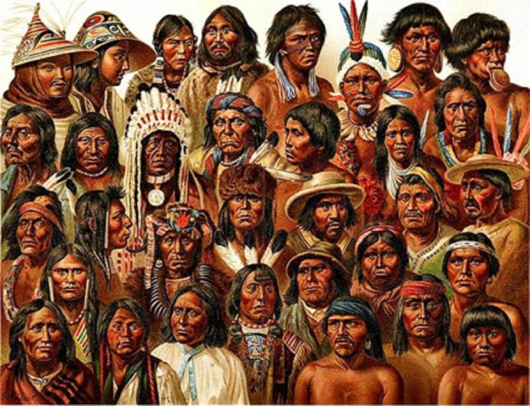 article en cours  veuillez patienter non fini ---------- LES AMERINDIENS (Indiens d'Amérique)