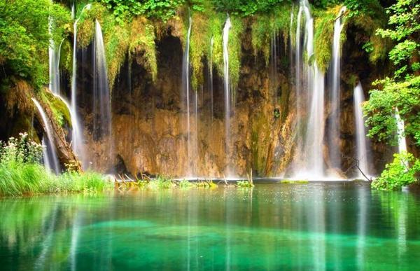 En Croatie, le Parc national des lacs de Plitvice... loups, lynx, ours Mais leur survie n'est pas toujours facile...