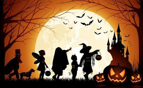 Bonne Vacances d'Halloween