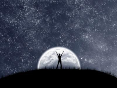 La lune , mon seul espoir !!