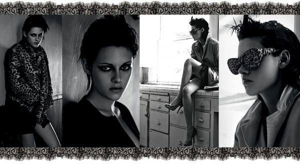 """Shoot et interview pour le magazine """"Interview"""" (2009) : Vidéo behind the scenes(Cliques)"""
