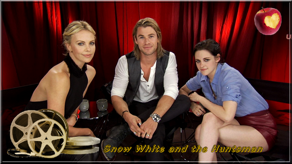 "Added Youtube version - ""Snow White and the Huntsman""' Unscripted Moviefone Interview/Photo + Bonus clips - 2012"