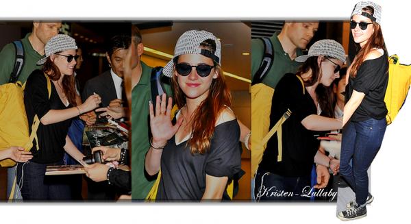 Lundi 22 Octobre 2012 : Kristen est bien arrivée au Japon + interviews + Mercredi 24 Octobre 2012 : Le fan event