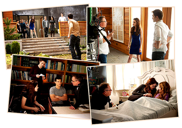 "Photos ""Behind the scenes"" de Révélation Partie 2 + Tv spot + Featurette :"