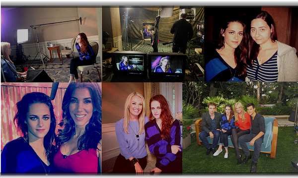 "Jeudi 1er Novembre 2012 : Conférence de presse, press junket (interviews...""access hollywood"") :"