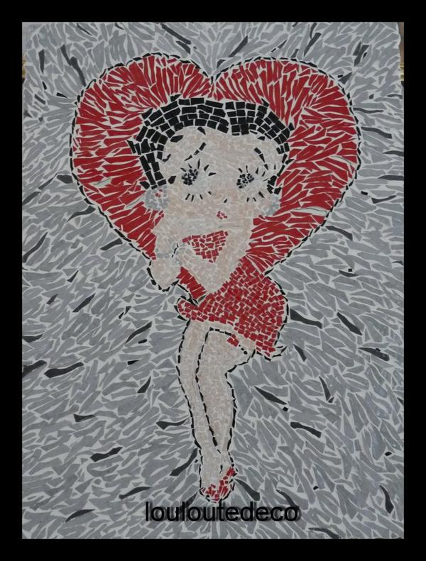 Betty Boop mosaique