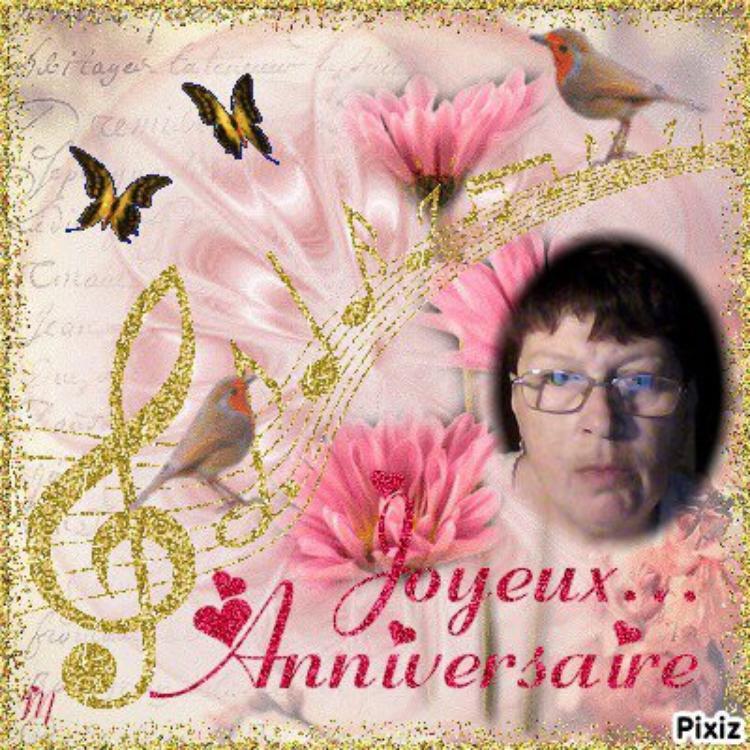joyeux anniversaire a mon amie miss-ange1958
