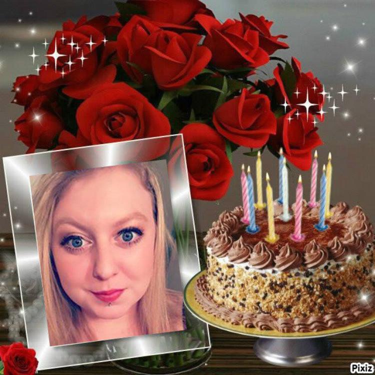 aujourd hui c est l anniversaire de ma belle fille maureen compagne de mon fils stevens