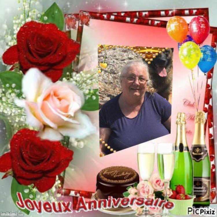 joyeux anniversaire a mon amie  petite mamiedu13