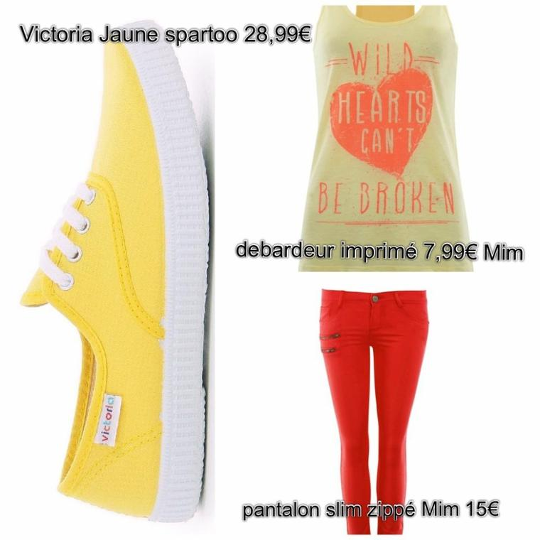N°5 - le jaune et le orange :)