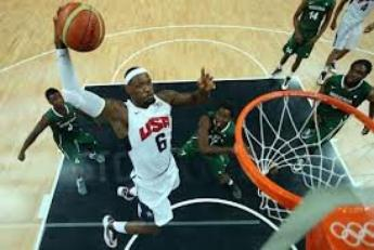 Le superbe dunk de Lebron JAMES