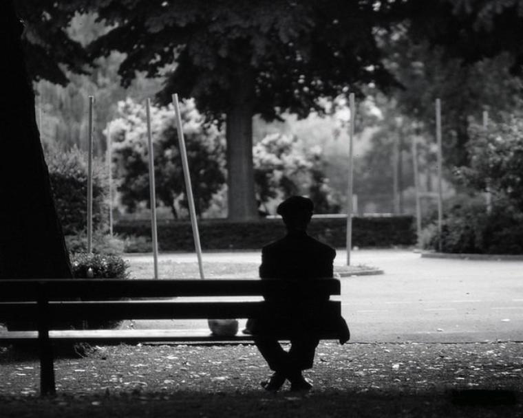 La solitude est agréable lorsque quelqu'un est là pour la vivre avec nous.