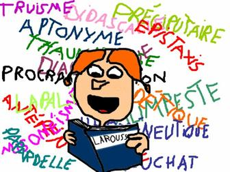 Rubrique texte lexical