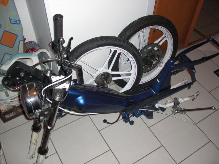 cadre et roues