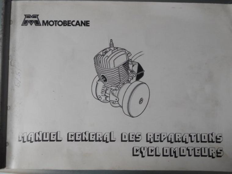 manuel de réparations motobecane