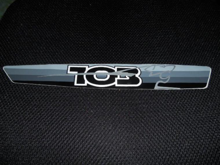 autocollant 103