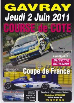 Course de Côte de Gavray - Jeudi 2 Juin