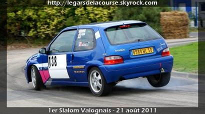 1er Slalom Valognais - les autos du blog