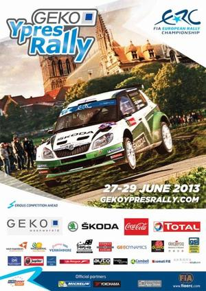 GEKO Ypres Rally 2013