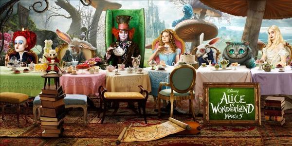 Alice au pays des merveilles Film 2010 Tim Burton