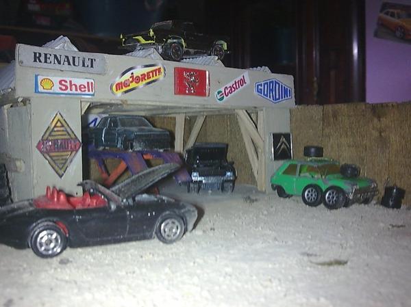 diorama   casse majorette