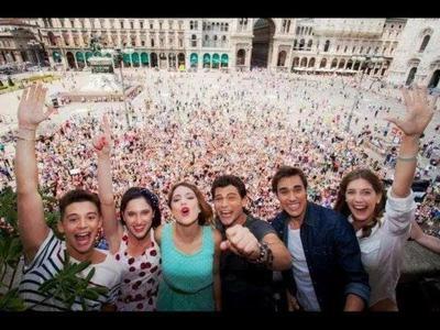 photo Franchesca , Leon , Violetta , Angie , Fédérico et Diego