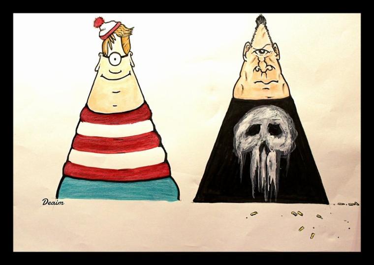 """""""Ordo-Illuminatee """" :   Wally and Castle Frank"""