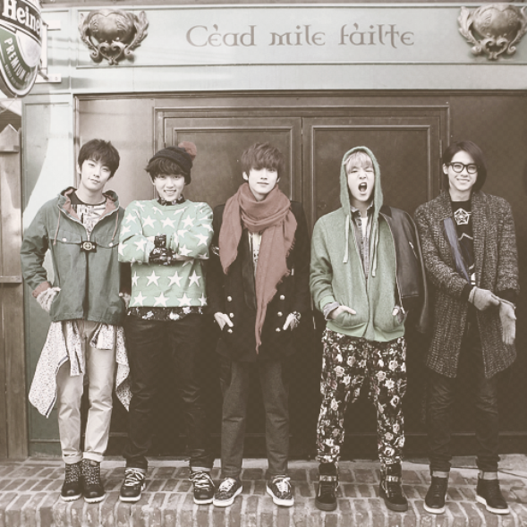B1A4 / Tried to Walk (2012)