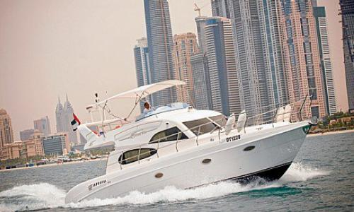 A voyage with yacht in Dubai!