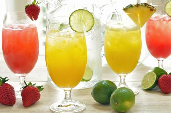 Recettes de boissons pour cet été...