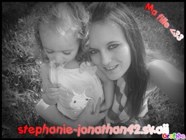 Ma première fille et moi ♥