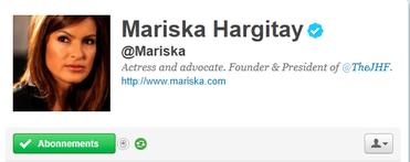 Le twitter de Mariska