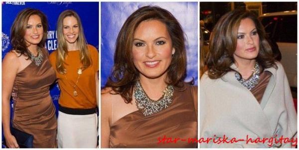 Mariska en Décembre 2011