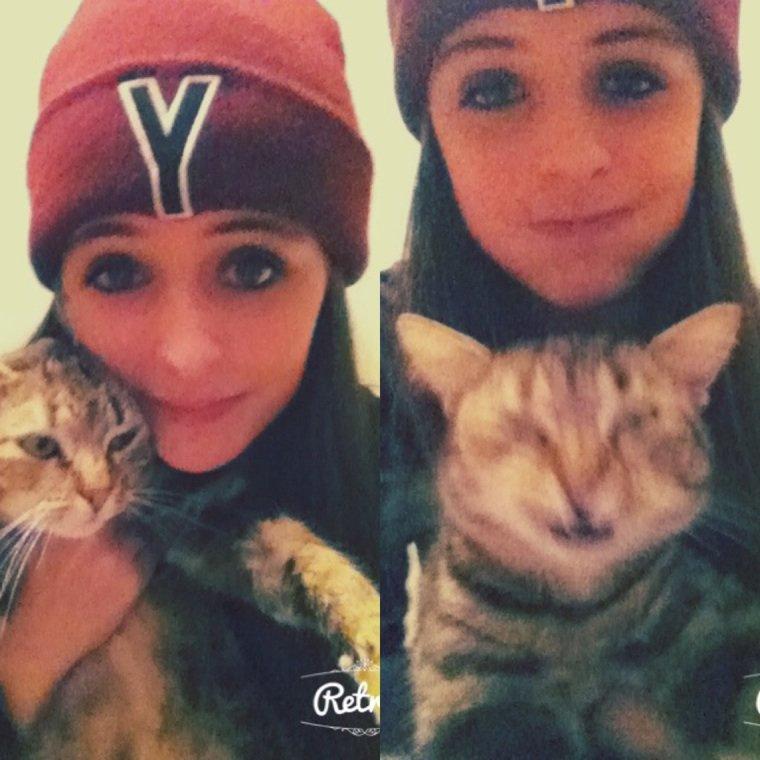 #Mon bébé chat ❤