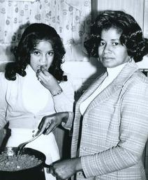 Katherine et La Toya