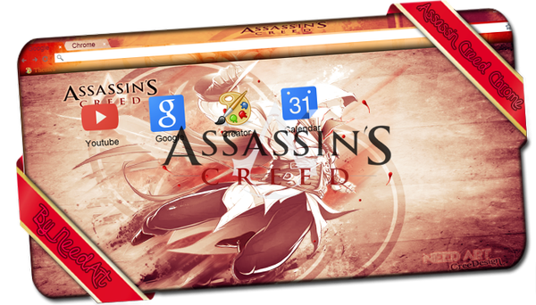 Assassin Creed Thème For Google Chrome