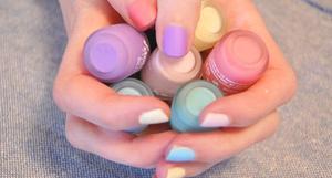 Coup de ♥ : Le vernis pastel de chez claire's