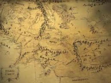 """le monde du """"seigneur des anneaux"""""""