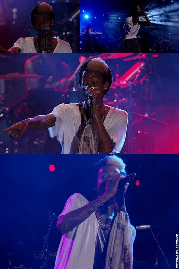 "Jimmy Kimmel Live - Wiz Khalifa Performs ""It's Nothin'"""