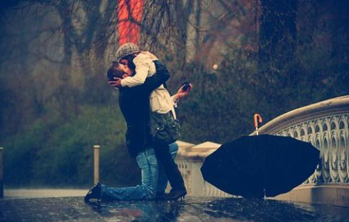 Ni le vent, ni la pluie ne m'arrêtera de t'aimer