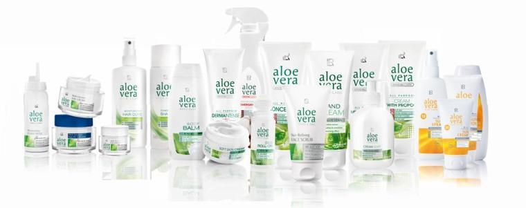 Présentation de la gamme bien-etre Aloe Vera