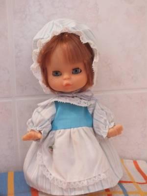 mes poupées du vide-grenier du 18 mars