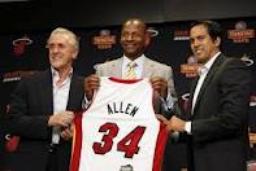 Draft 2012 de Ray Allen au heat de miami!!!!!!!!!!!!